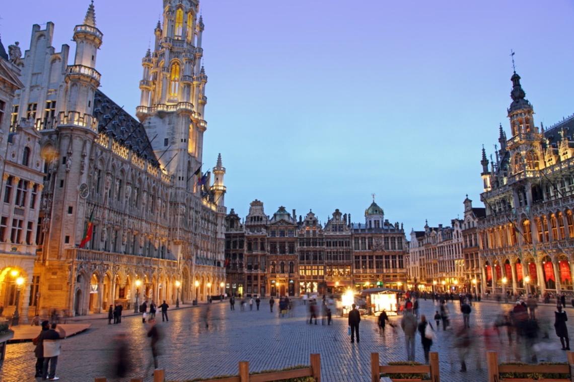 Grande Place Groote Markt  Brussels  Belgium  Europe
