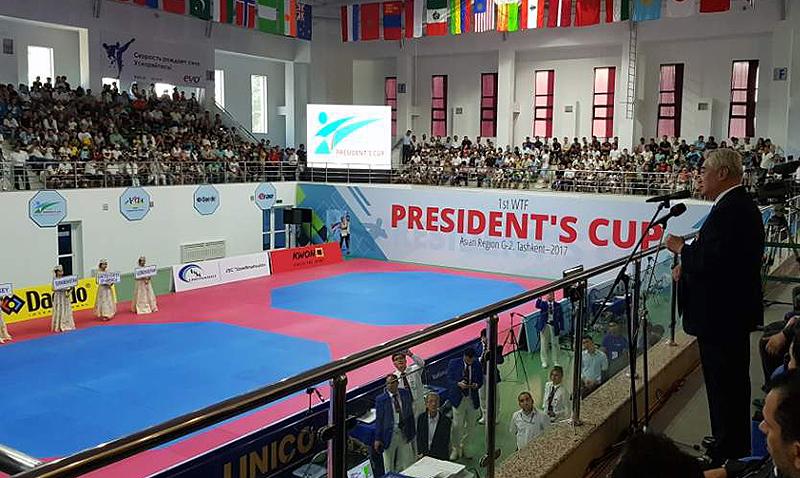 Κορέα, κυρίαρχος του παιχνιδιού στο President's Cup 2017.